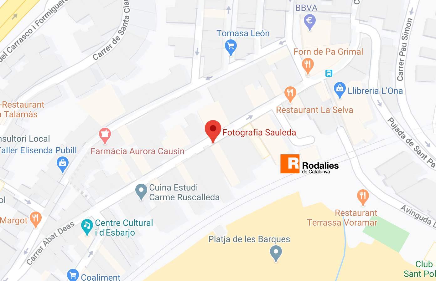 Foto Sauleda Mapa
